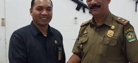 Panmud Jinayat MS Sigli Melakukan Pertemuan dengan KepalaSatpol PP & WH Pidie