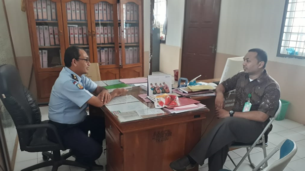 Pertemuan Terbatas Panmud Jinayat MS Sigli dengan Pejabat Rutan