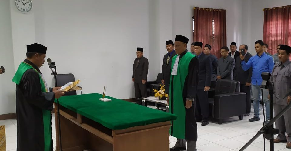 Pelantikan Jabatan Hakim MS Sigli
